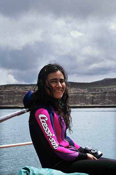 1996 - Andrea Ramalho- erste gemeinsame Expedition