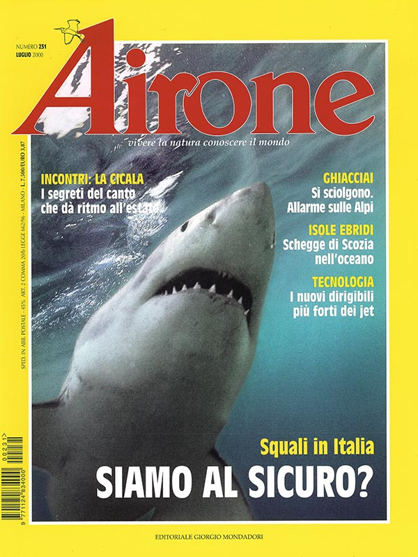 Magazin-Cover AIRONE 2000