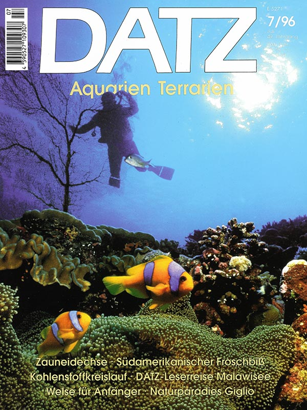 Magazin-Cover DATZ 1996