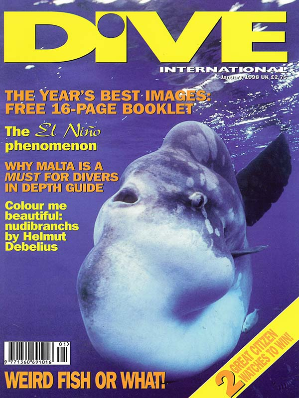 Magazin-Cover DIVE 1998