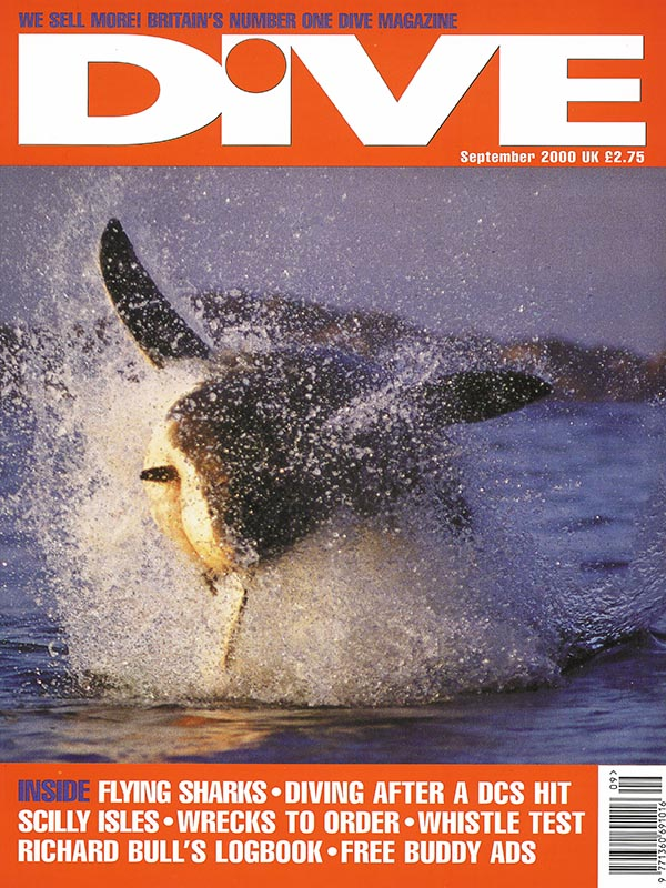 Magazin-Cover DIVE 2000