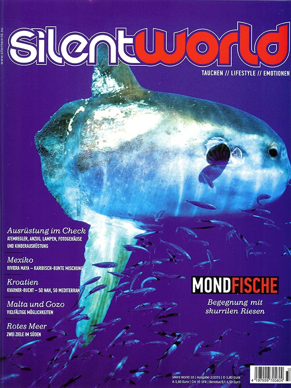 Magazin-Cover SilentWorld 2015