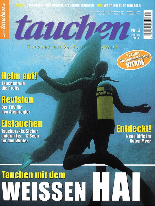 Magazin-Cover TAUCHEN 2004