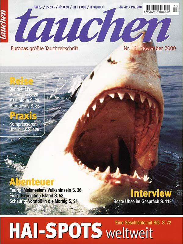 Magazin-Cover TAUCHEN 2000