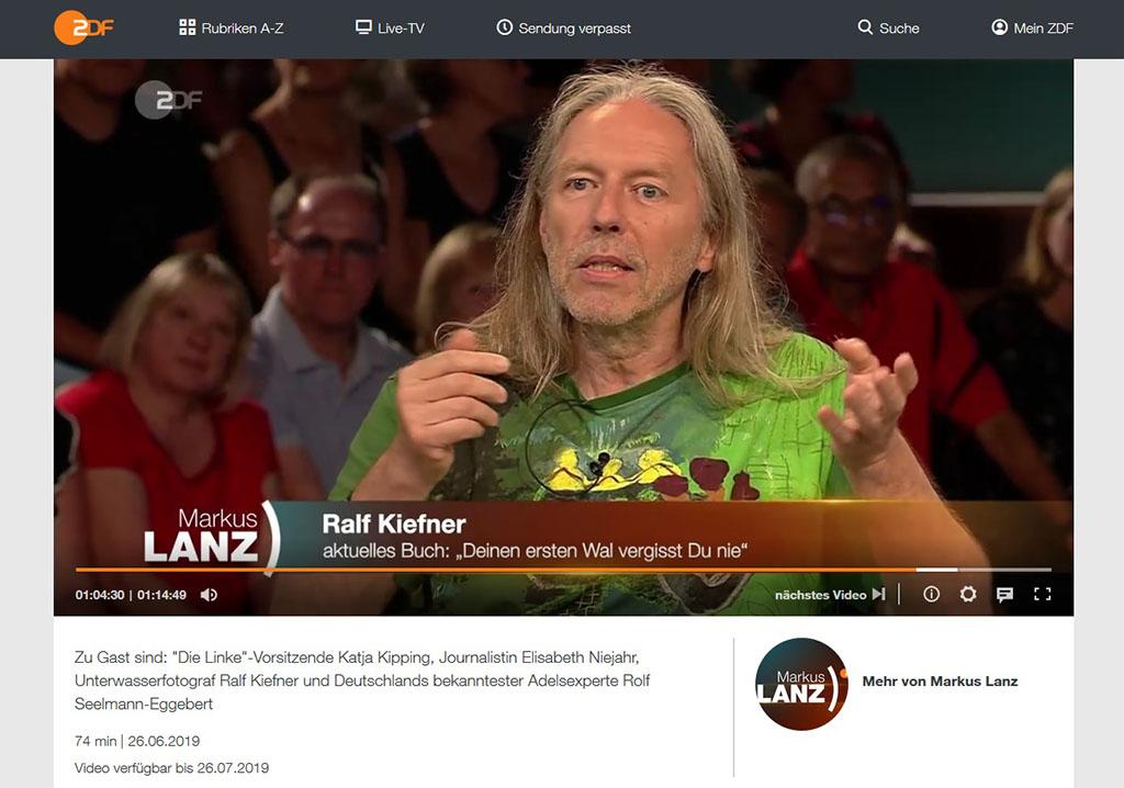 2019-3 - Markus Lanz - Ralf Kiefner