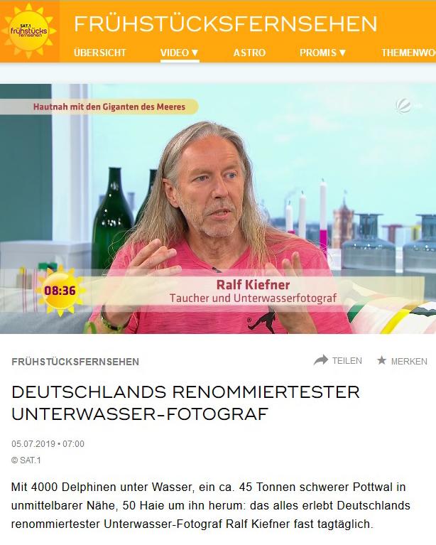 2019-4-Sat.1 Frühstücksfernsehen - Ralf Kiefner